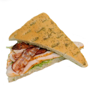 Speciaal broodje Focaccia Kip